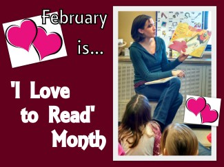 I Love to Read Month (Katelyn's Class) 2015