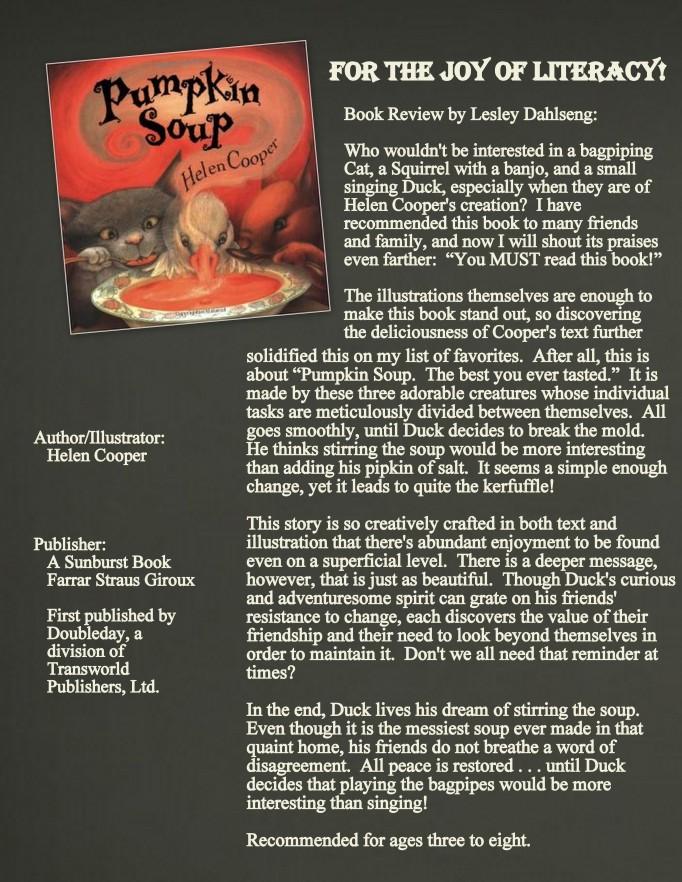 Pumpkin Soup Review Image 2