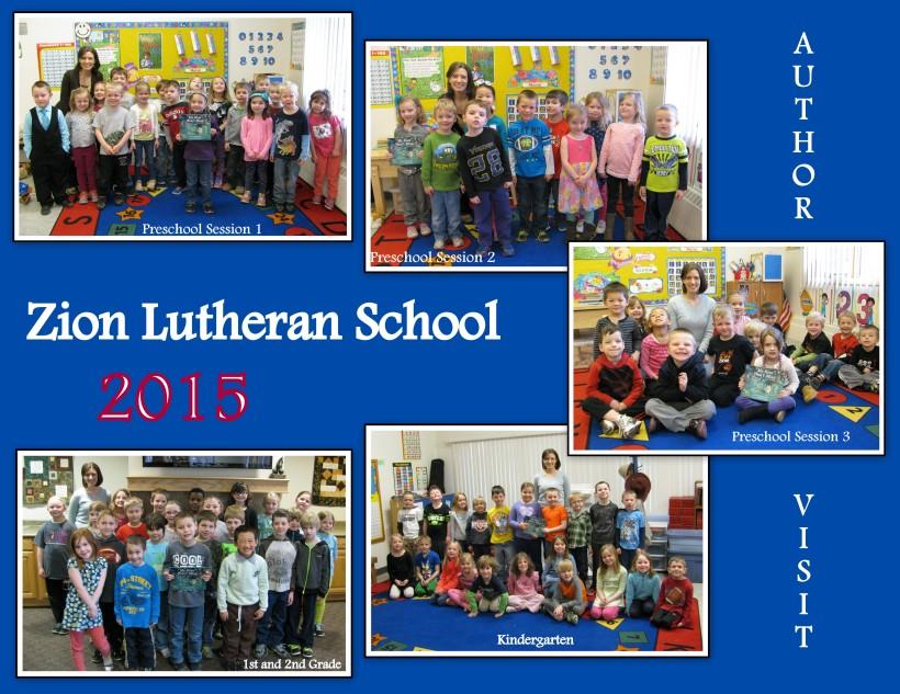 Zion Lutheran School Visit Collage